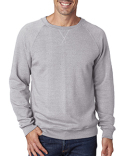 JA8875 J America Men's Triblend Fleece Crew
