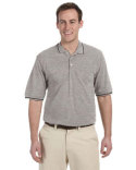 M270 Harriton Men's 5.6 oz. Tipped Easy Blend™ Polo