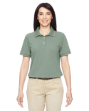 M270W Harriton Ladies' 5.6 oz. Tipped Easy Blend™ Polo