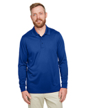 M348L Harriton Men's Advantage Snag Protection Plus IL Long Sleeve Polo