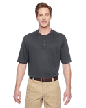 M400 Harriton Adult Short-Sleeve Performance Henley