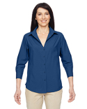 M610W Harriton Ladies' Paradise 3/4-Sleeve Performance Shirt