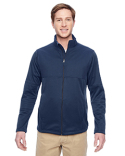 M745 Harriton Men's Task Performance Fleece Full-Zip Jacket
