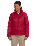 M797W Harriton Ladies' Essential Polyfill Jacket