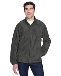 M990T Harriton Men's Tall 8 oz. Full-Zip Fleece