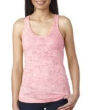 N6533 Next Level Ladies' Burnout Racerback Tank