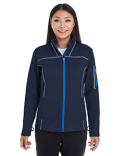 NE703W Ash City - North End Ladies' Endeavor Interactive Performance Fleece Jacket