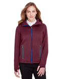 NE707W North End Ladies' Paramount Bonded Knit Jacket
