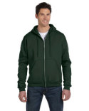 S800 Champion Adult 9 oz. Double Dry Eco® Full-Zip Hood