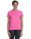 SL04 Hanes Ladies' 4.5 oz., 100% Ringspun Cotton nano-T® T-Shirt