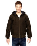 TJ718 Dickies Men's 10 oz. Hooded Duck Jacket