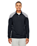 TT27 Team 365 Men's Command Colorblock Snag Protection Quarter-Zip
