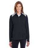 TT27W Team 365 Ladies' Command Colorblock Snag Protection Quarter-Zip
