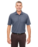 UC100 UltraClub Men's Heathered Piqué Polo