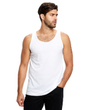 US2408 US Blanks Unisex Poly-Cotton Tank
