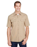 WS675 Dickies Men's FLEX Relaxed Fit Short-Sleeve Twill Work Shirt