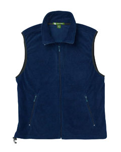M985 Harriton Adult 8 oz. Fleece Vest